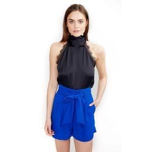 Generation Love Elsie Blouse Silk Black Lace